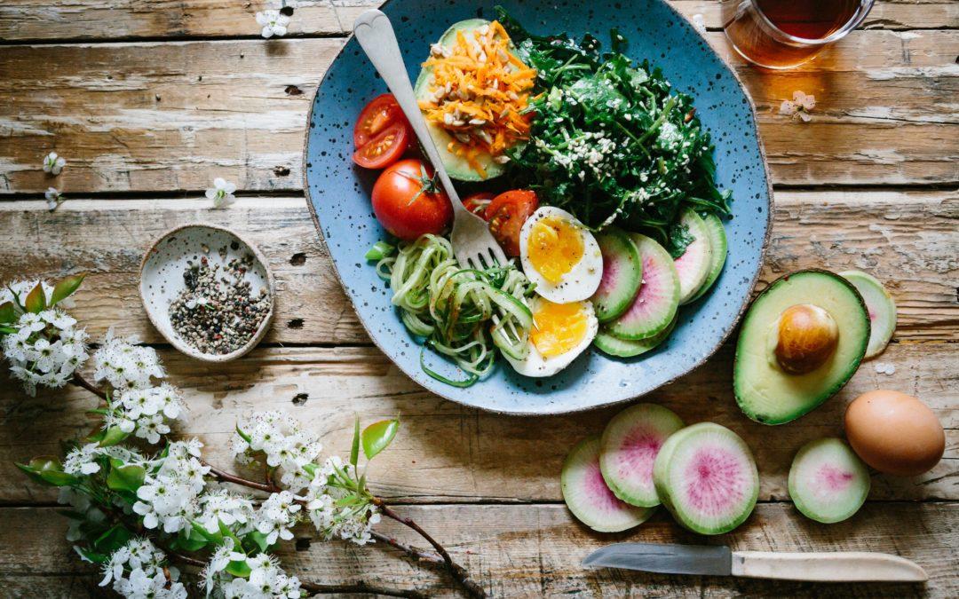 L'equilibri a través de l'alimentació.